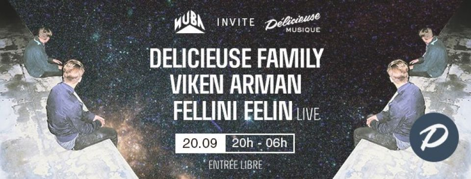 NUBA invite DELICIEUSE